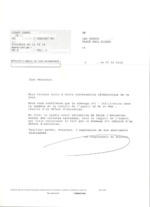 Recherche fuites par ids etanch 39 contrat d 39 entretie - Garantie decennale toiture ...