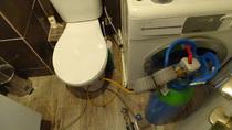gaz traceur avec connexion sur wc