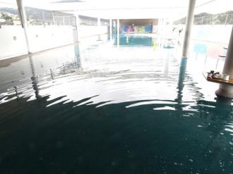 Mise en eau d'une cour de récréation de 1500 m² (groupe scolaire : La Trinité)