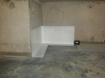 Traitement cuvelage dans un garage sous sol