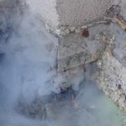 fumigène à Menton Octobre 2013