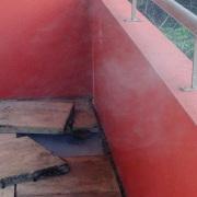 Recherche de fuite avec fumigène à Grasse Février 2016