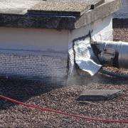Recherche de fuite avec fumigène à Mandelieu octobre 2016